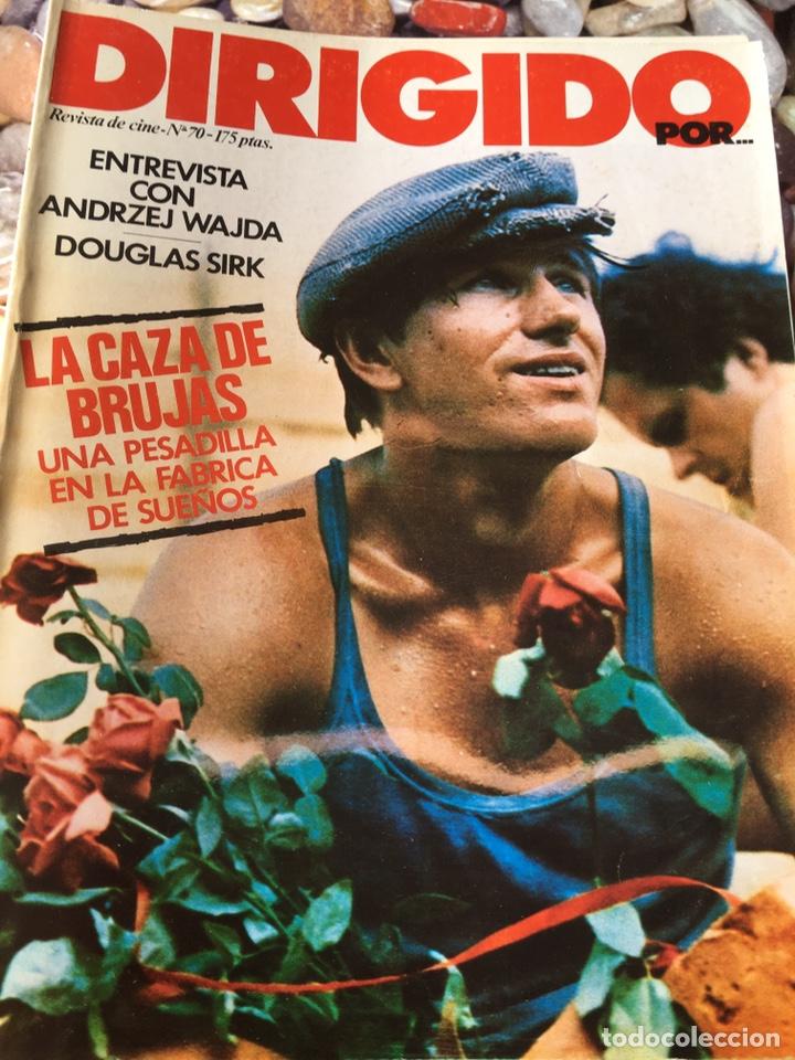 LOTE DE 31 NÚMEROS DE DIRIGIDO POR (Cine - Revistas - Dirigido por)