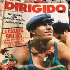 Cine: LOTE DE 31 NÚMEROS DE DIRIGIDO POR. Lote 180238197