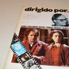 Cine: CARLOS SAURA - DIRIGIDO POR Nº 32. Lote 180290413