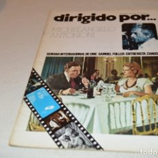 Cine: MICHELANGELO ANTONIONI - DIRIGIDO POR Nº 27. Lote 180290458