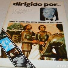 Cine: HOWARD HAWKS - DIRIGIDO POR Nº 24. Lote 180290481