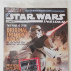 Cine: STAR WARS INSIDER Nº 78 DICIEMBRE 2004 PRECINTADA CON TRADING CARD. Lote 180333785