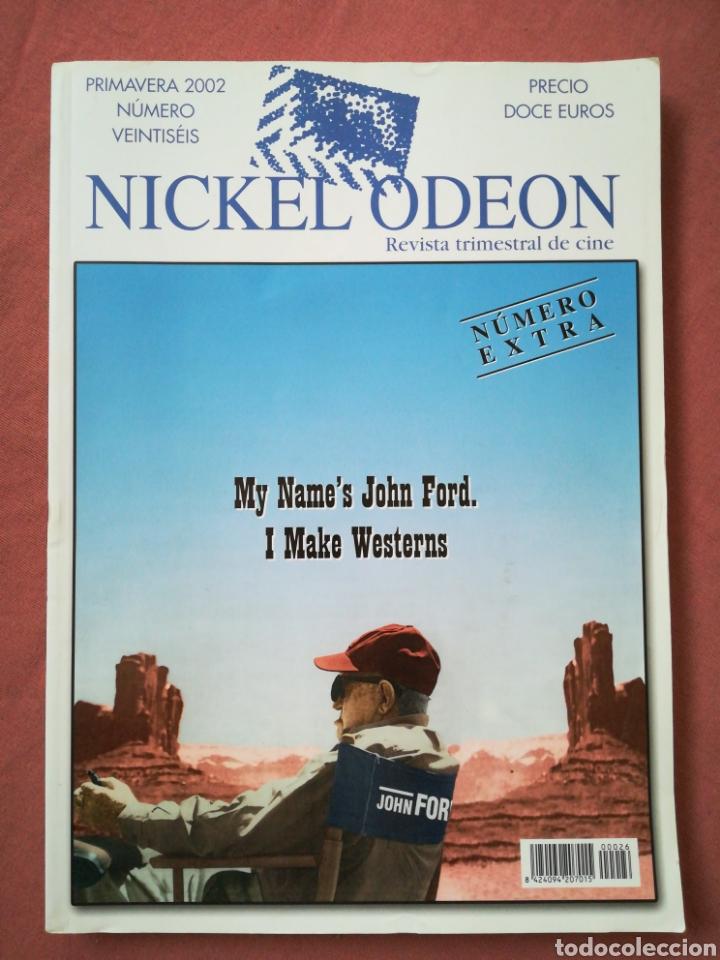 REVISTA DE CINE NICKEL ODEON Nº 26 EXTRA - JOHN FORD - PRIMAVERA 2002 (Cine - Revistas - Nickel Odeon)