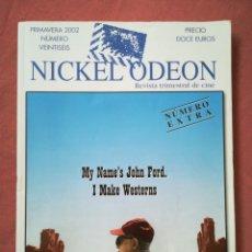 Cine: REVISTA DE CINE NICKEL ODEON Nº 26 EXTRA - JOHN FORD - PRIMAVERA 2002. Lote 180852378