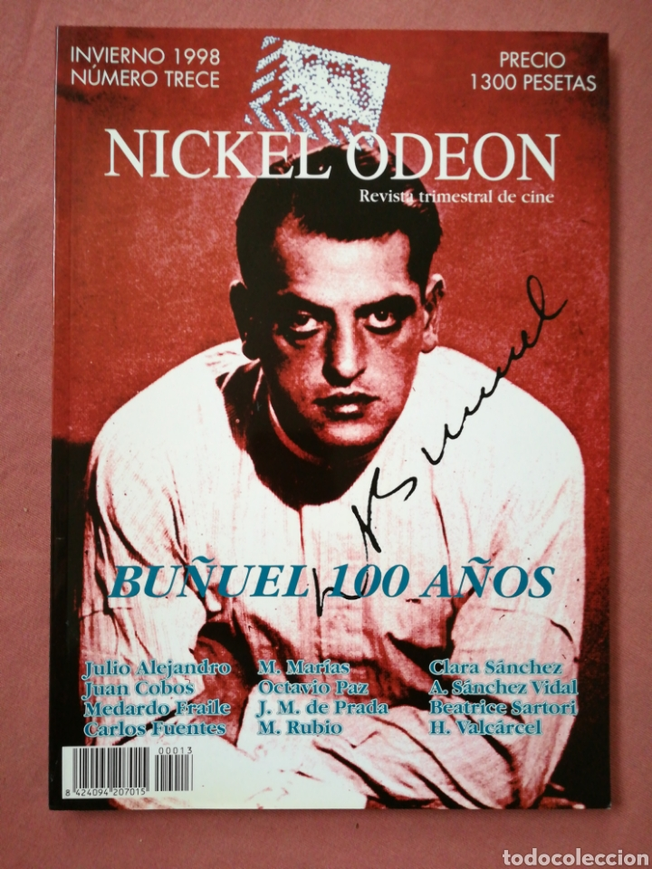 REVISTA DE CINE NICKEL ODEON Nº 13 - LUIS BUÑUEL - INVIERNO 1998 (Cine - Revistas - Nickel Odeon)