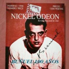 Cine: REVISTA NICKEL ODEON NÚMERO 13 - LUIS BUÑUEL - 1998. Lote 180852598
