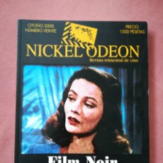 Cine: REVISTA NICKEL ODEON NÚMERO 20 - FILM NOIR / CINE NEGRO - 2000. Lote 180852861