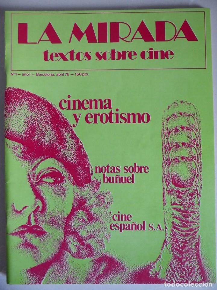 Cine: Revista La mirada, textos sobre cine - Completa 1 a 4 (1978) - Foto 2 - 180867522