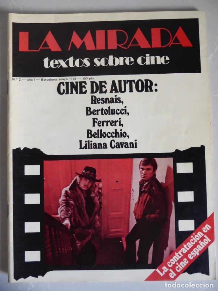Cine: Revista La mirada, textos sobre cine - Completa 1 a 4 (1978) - Foto 3 - 180867522