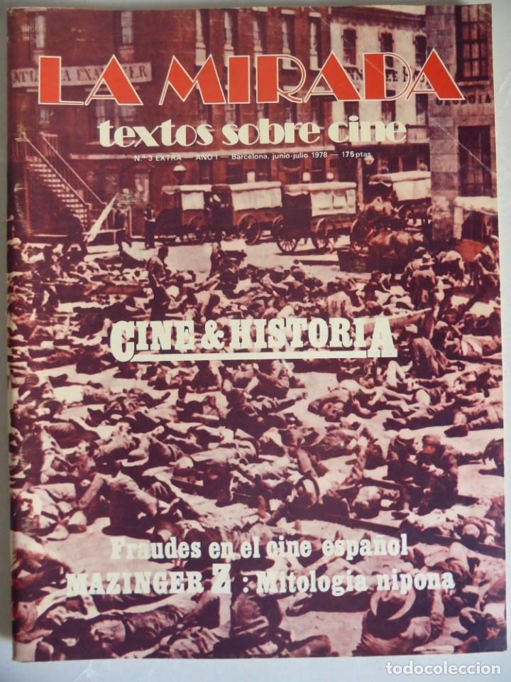 Cine: Revista La mirada, textos sobre cine - Completa 1 a 4 (1978) - Foto 4 - 180867522