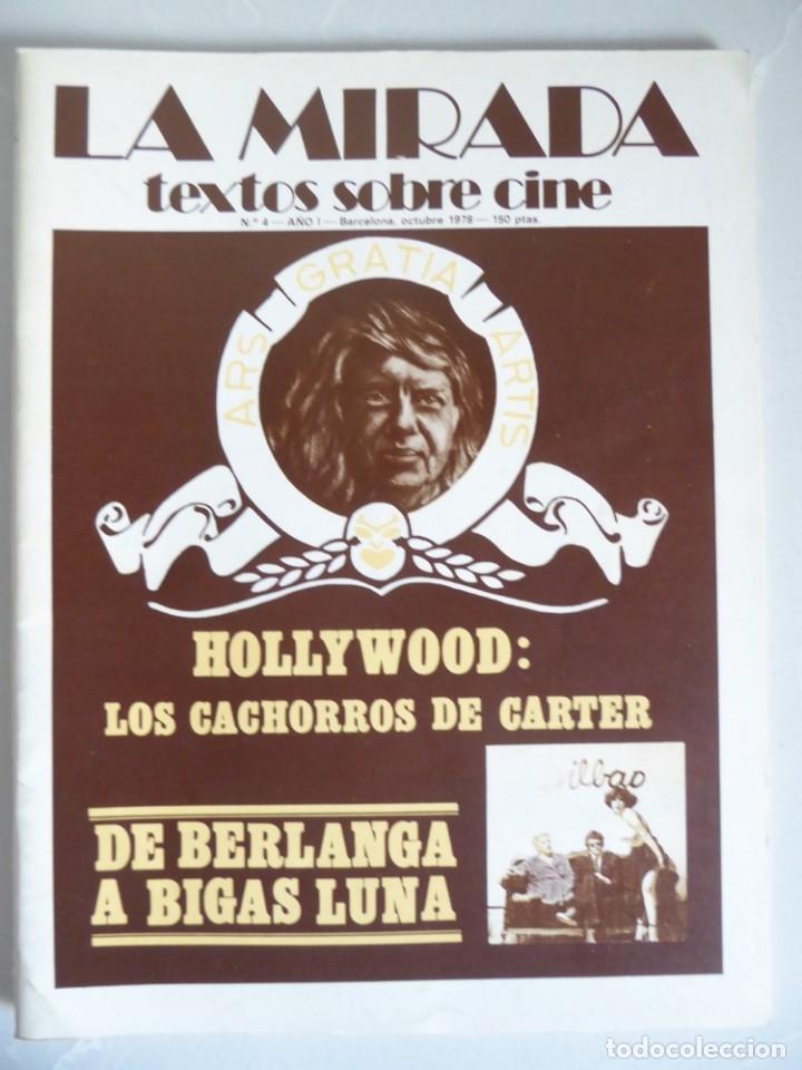 Cine: Revista La mirada, textos sobre cine - Completa 1 a 4 (1978) - Foto 5 - 180867522