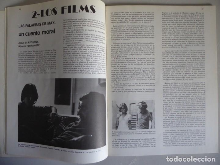 Cine: Revista La mirada, textos sobre cine - Completa 1 a 4 (1978) - Foto 12 - 180867522