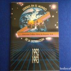Cine: CATALOGO DE PELICULAS DE COLUMBIA TRISTAR. AÑO 1992 1993. LIBRO CATALOGO.. Lote 181038727