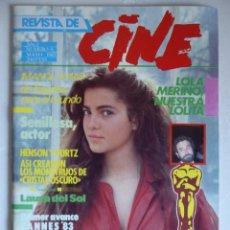 Cine: REVISTA DE CINE NÚMERO 5 (1983) LOLA MERINO-IMANOL ARIAS-LAURA DEL SOL-CANNES 83-BRIGITTE BARDOT. Lote 181088192
