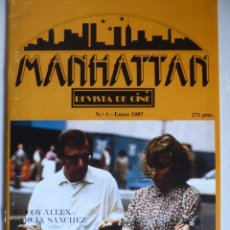 Cine: MANHATTAN NÚM. 1 (1987) REVISTA DE CINE-CARY GRANT-CINE POSTFRANQUISTA-WOODY ALLEN-MIA FARROW. Lote 181089128