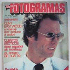 Cine: CLINT EASTWOOD. FRANK SINATRA. REVISTA FOTOGRAMAS 1980.. Lote 181094283