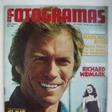 Cine: CLINT EASTWOOD. REVISTA FOTOGRAMAS 1979.. Lote 181094326