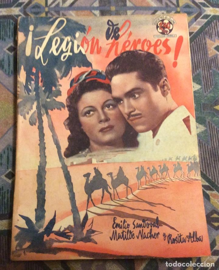 ! LEGION DE HEROES ! EDICIONES BISTAGNE. EDICIONES CINEMATOGRÁFICAS (Cine - Revistas - Otros)
