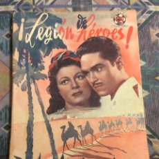 Cinéma: ! LEGION DE HEROES ! EDICIONES BISTAGNE. EDICIONES CINEMATOGRÁFICAS . Lote 181154635
