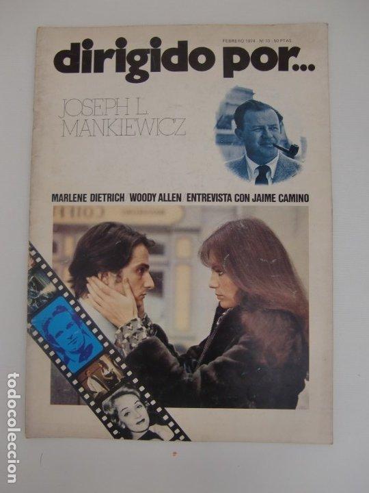 DIRIGIDO POR ... Nº 10 / JOSEPH L. MANKIEWICZ (Cine - Revistas - Dirigido por)