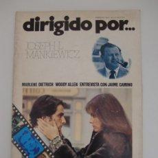 Cinema: DIRIGIDO POR ... Nº 10 / JOSEPH L. MANKIEWICZ. Lote 181216145