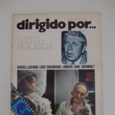 Cine: DIRIGIDO POR ... Nº 13 / LUIS G. BERLANGA. Lote 181216356