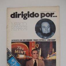 Cine: DIRIGIDO POR ... Nº 15 / MARCO FERRERI. Lote 181216590