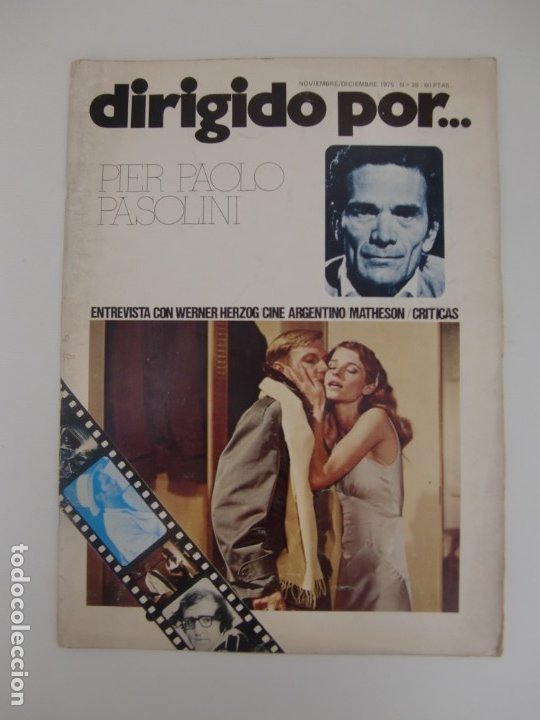 DIRIGIDO POR ... Nº 28 / PIER PAOLO PASOLINI (Cine - Revistas - Dirigido por)