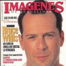 Cine: REVISTA IMAGENES Nº 139 AÑO 1995. BRUCE WILLIS. JEREMY IRONS, DENZEL WASHINGTON. RICHARD GERE.. Lote 181622475