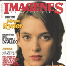 Cine: REVISTA IMAGENES Nº 136 AÑO 1995. WINONA RYDER. TODO SOBRE LOS OSCAR 1994. D, HOFFMAN ESTALLIDO.. Lote 181622678