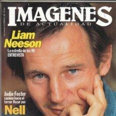 Cine: REVISTA IMAGENES Nº 134 AÑO 1995. LIAM NEESON. JODIE FOSTER. RAY LIOTTA. SIGOURNEY WEAVER.. Lote 181622811