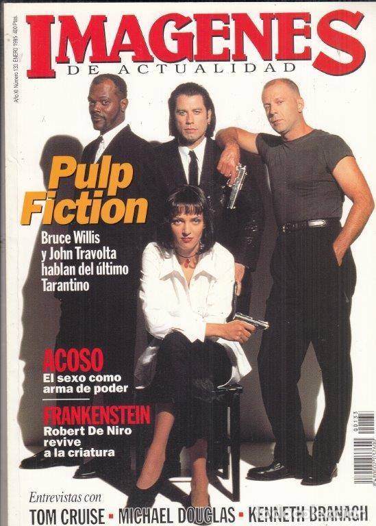 REVISTA IMAGENES Nº 133 AÑO 1995. PULP FICTION. TOM CRUISER. MICHAEL COUGLAS, KENNETH BRANAGH. (Cine - Revistas - Imágenes de la actualidad)