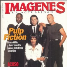 Cine: REVISTA IMAGENES Nº 133 AÑO 1995. PULP FICTION. TOM CRUISER. MICHAEL COUGLAS, KENNETH BRANAGH.. Lote 181622865