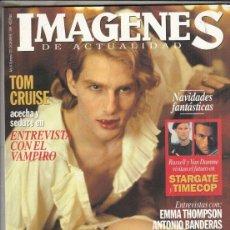 Cine: REVISTA IMAGENES Nº 132 AÑO 1994. ENTREVISTA CON EL VAMPIRO.EMMA THOMPSON. ANTONIO BANDERAS.RUSSELL.. Lote 204417351