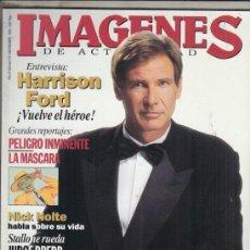 Cine: REVISTA IMAGENES Nº 131 AÑO 1994. HARRISON FORD. LA MASCARA. EL REY LEON. NICK NOLTE.. Lote 181623063