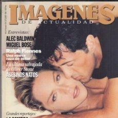 Cine: REVISTA IMAGENES Nº 130 AÑO9 1994. EL ESPECIALISTA. ALEC BALDWIN. MIGUEL BOSE. LA SOMBRA. EL CUEVO.. Lote 181623157