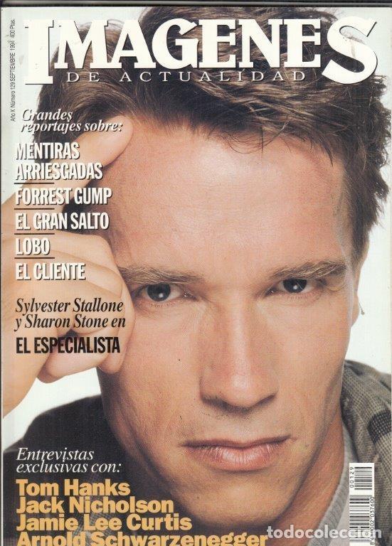REVISTA IMAGENES Nº 129 AÑO 1994. ARNOLD SCHWARZENEGGER. TOM HANKS. JAXK NICHOLSON. LEE CURTIS. (Cine - Revistas - Imágenes de la actualidad)