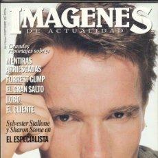 Cine: REVISTA IMAGENES Nº 129 AÑO 1994. ARNOLD SCHWARZENEGGER. TOM HANKS. JAXK NICHOLSON. LEE CURTIS.. Lote 181623231