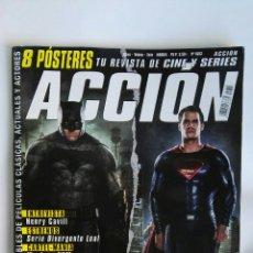 Cine: REVISTA ACCIÓN BATMAN SUPERMAN N° 1603 SIN PÓSTERS. Lote 181812488