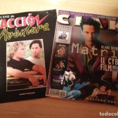 Cine: CIAK REVISTA ITALIANA ANNO 15 MAGGIO 1999 + FASCICULO ACCION AVENTURA KEANU REEVES. Lote 182122933
