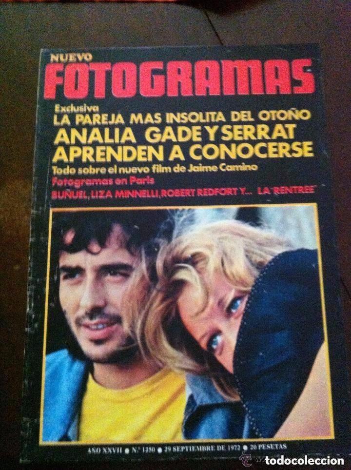 FOTOGRAMAS - SERRAT (Cine - Revistas - Fotogramas)