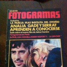 Cine: FOTOGRAMAS - SERRAT. Lote 182205202