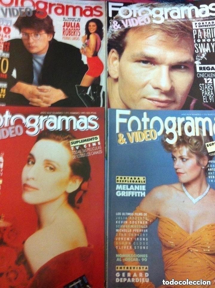 Cine: FOTOGRAMAS- lote de 10 -años 90/91 - Foto 2 - 182206282