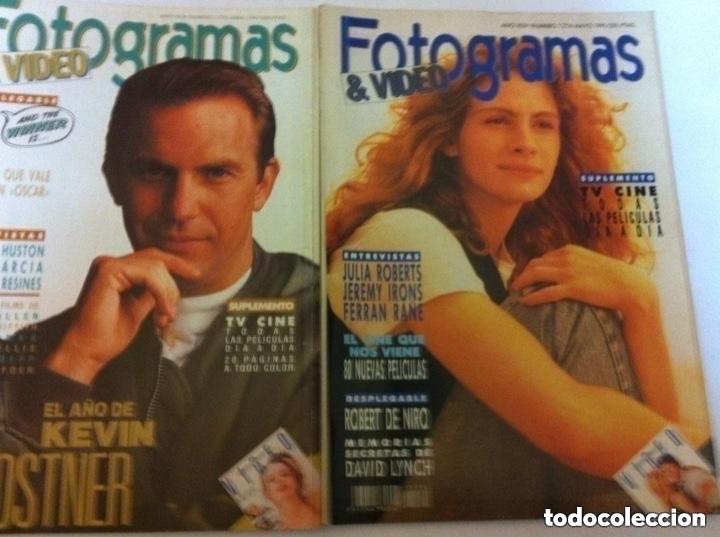 Cine: FOTOGRAMAS- lote de 10 -años 90/91 - Foto 3 - 182206282