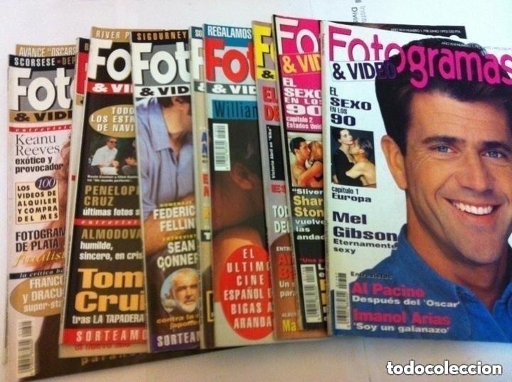 FOTOGRAMAS- LOTE DE 10 -AÑOS 93/94 (Cine - Revistas - Fotogramas)