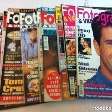 Cine: FOTOGRAMAS- LOTE DE 10 -AÑOS 93/94. Lote 182206602
