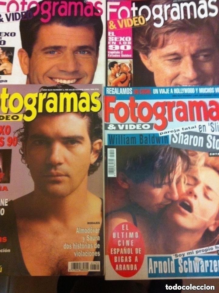 Cine: FOTOGRAMAS- lote de 10 -años 93/94 - Foto 2 - 182206602