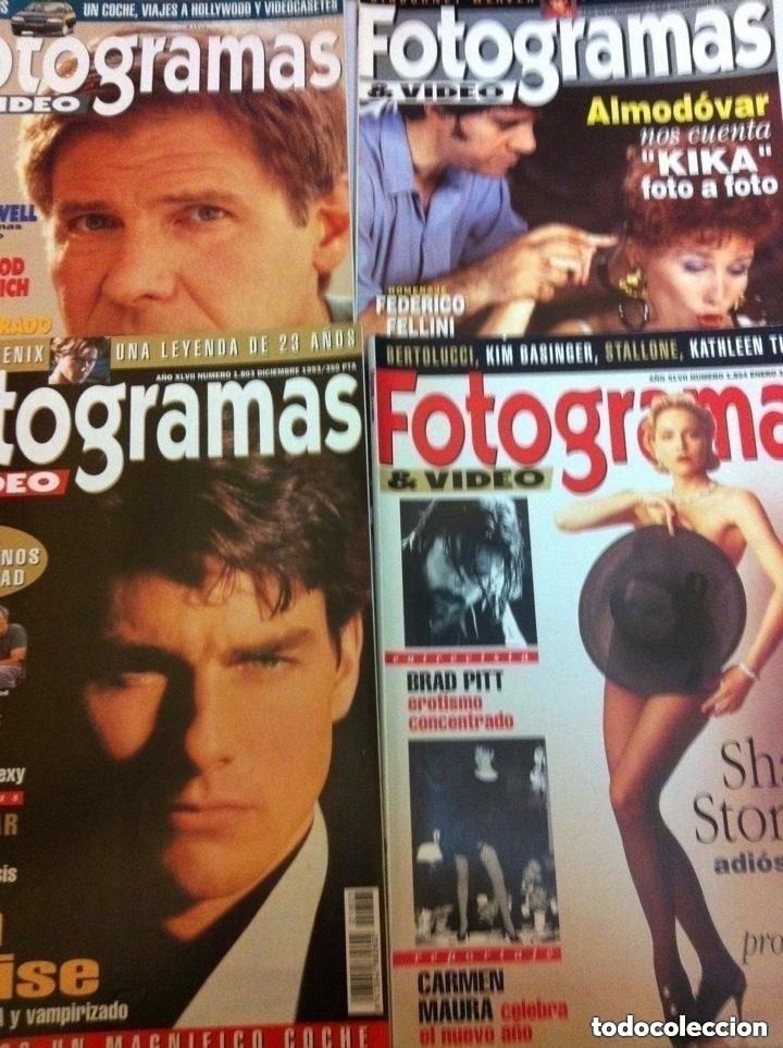 Cine: FOTOGRAMAS- lote de 10 -años 93/94 - Foto 3 - 182206602