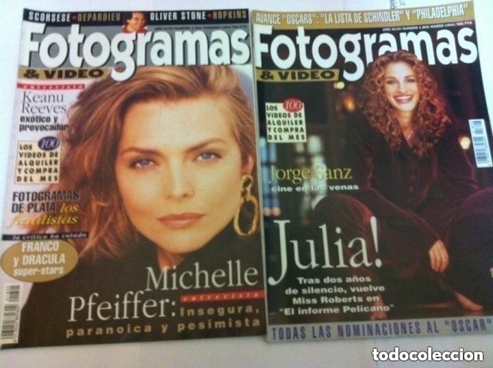 Cine: FOTOGRAMAS- lote de 10 -años 93/94 - Foto 4 - 182206602