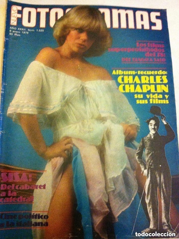 FOTOGRAMAS -Nº. 1525- CHARLES CHAPLIN (Cine - Revistas - Fotogramas)